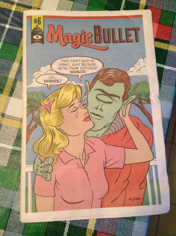 Magic Bullet #6 cover