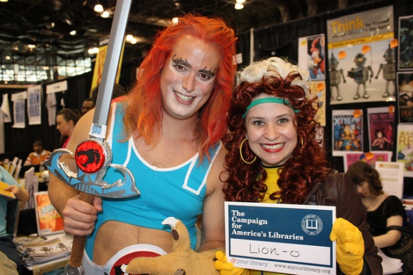 Larry as Lion-O New York Comic Con NYCC